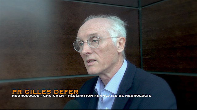 Pr. Gilles Defer, neurologue, Fėdėration Française de Neurologie