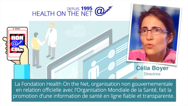 Célia BOYER, Directrice Fondation Health On the  Net