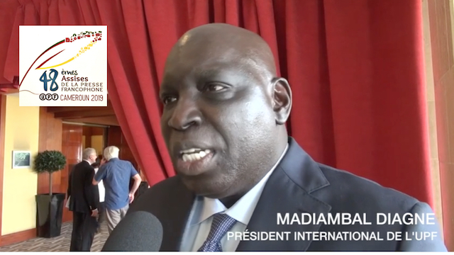 Madiambal DIAGNE, Président international de l'UPF
