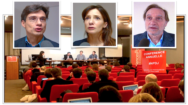 Bruno PATINO, Alice ANTHEAUME, Jean-François FOGEL, Ecole de Journalisme Sciences Po Paris